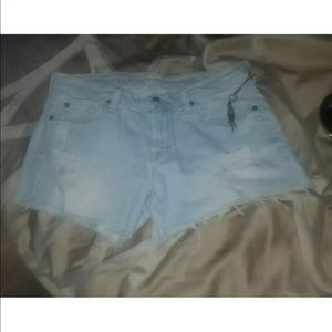 New 7 for all mankind size 27 jean shorts